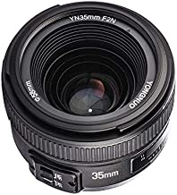 YONGNUO YN35mm F2N Lens 1:2 AF/MF Wide-Angle Fixed/Prime Auto Focus Lens for Nikon DSLR Cameras