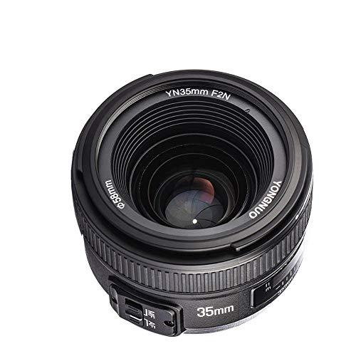 Yonguno, obiettivo YN-35mm, F 2per fotocamere DSLR Nikon–messa a fuoco automatica AF MF