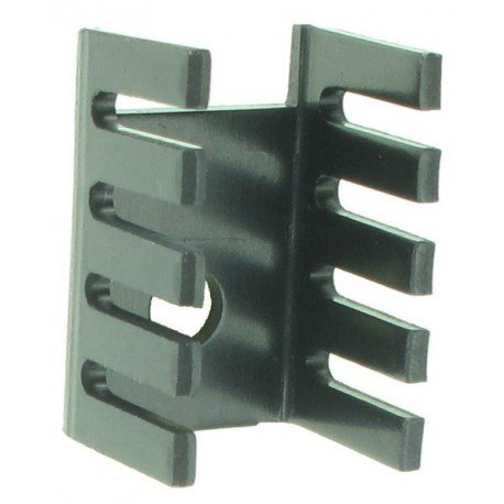 10 x Dissipatore di calore Clip Part # AAVID THERMALLOY 4597