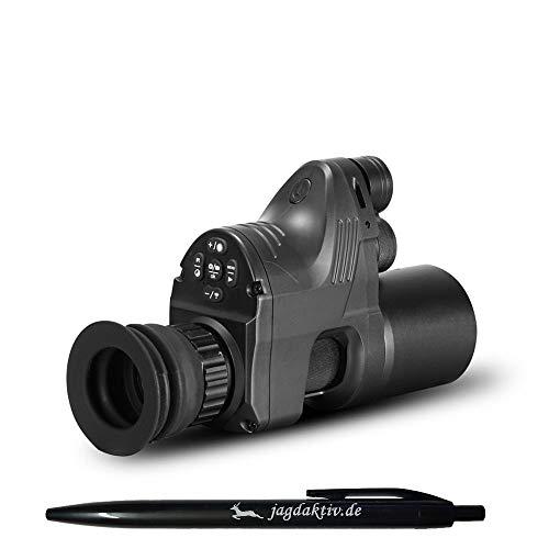 JAGDAKTIV Nachtsichtgerät PARD NV007a Linse 16mm WiFi BRD Edition Nachsatzgerät 42mm Adapter OLED Display