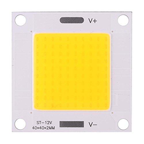 Ftvogue 5pz / Set 50W ad Alta Potenza COB LED Integrato Chip Lampada per Fai da Te Lampadina Proiettore DC 12~14V