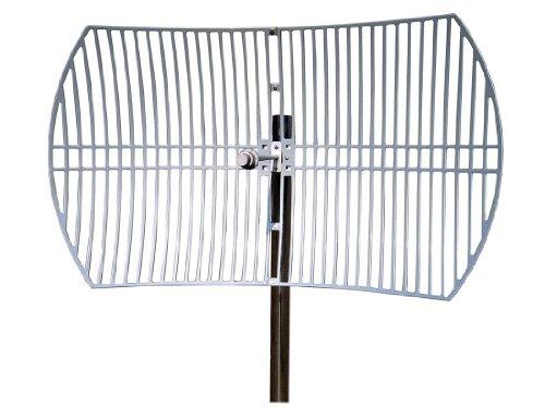 TP-LINK TL-ANT5830B Netzwerk-Antenne 30 dBi Directional Antenna N-Typ - Netzwerk-Antennen (30 dBi, 5.15-5.85 GHz, 50 Ohm, Directional Antenna, N-Typ, Outdoor)
