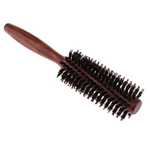 MERIGLARE Brosse à Cheveux Ronde Portable Pour Le Séchage Avec Brins Pour Le Séchage Des Cheveux - 02