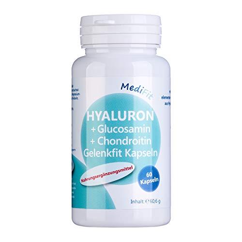 MediFit Hyaluron + Glucosamin + Chondroitin Gelenkfit Kapseln