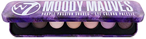 W7 Moody Mauves Dose 7pc Eye Farbe Palette, 7 g