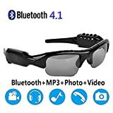 2020 New Bluetooth Sunglasses Camera Glasses Full HD 1080P, with Wide-Angle Mini Camera