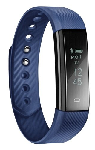 ACME ACT101B Fitness Activity Tracker, Blue, One Size