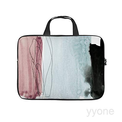 Neoprene Sleeve Laptop Handle Bag Handbag Notebook Case,Minimalism,House Plants Portable MacBook Laptop/Ultrabooks Case Bag Cover 13 Inch