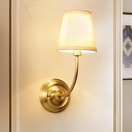 JJZHG Wandlamp, waterdicht, wandverlichting, tweepersoonsbed, schijnwerper, spiegel, schijnwerper, slaapkamer, studeerkamer, woonkamer, wandlamp, breedte 15 cm hoog, 39 cm