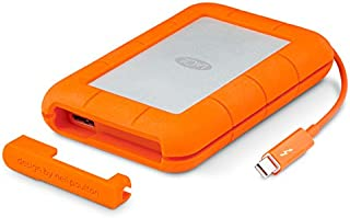 LaCie 莱斯 Rugged Thunderbolt 500 GB SSD, externe tragbare Festplatte - for MAC -