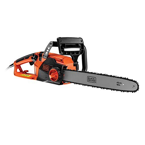 BLACK+DECKER CS2245-GB Corded Chainsaw, 45 cm, 2200 W