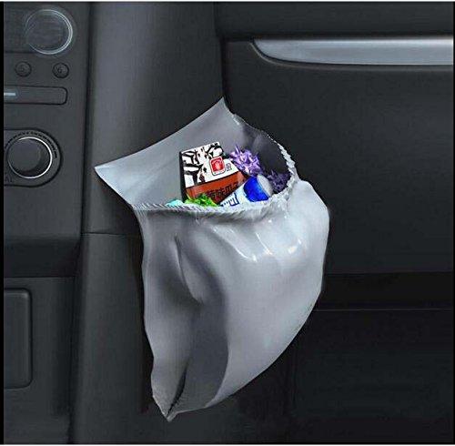 Mayco Bell Lot de 30 sacs poubelle antifuites jetables pour voiture Grande Capacité