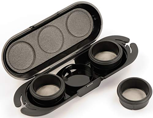 Handpresso 48218 Domepod Case - Kaffeepulver-Etui mit 3 Domepods Pump Espressomaschinen