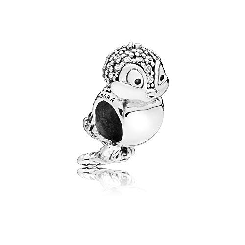 Pandora 797166CZ Disney Snow White's Bird Charm 925 Sterling Silver and Cubic Zirconia