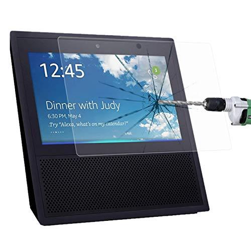 YEYOUCAI Para Amazon Echo Show 0.3mm 9H Dureza superficial Protector de pantalla de vidrio templado