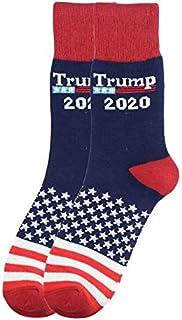 Zvivi, Zvivi Trump 2020 Calcetines Unisex, La Novedad Calcetines Que Estados Unidos Sea De Nuevo Un Gran Gran Maga Calcetines Mejor para Los Niños (3 Embalaje),B