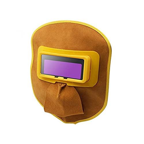 Outdoor Rugs Máscaras de Soldadura de oscurecimiento automático, Cómodo Capucha de Soldadura Casco de Soldadura Ajustable for Acero eléctrico Soldadura Corte Argón Arco Anti-Spatter