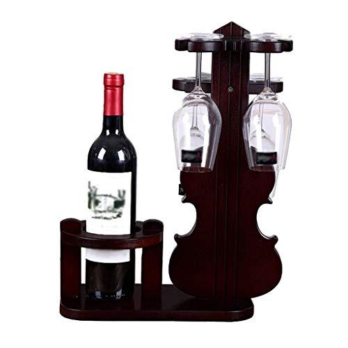 NXYJD Caja de Almacenamiento Estante for Vino del hogar Material de Madera Maciza Estante for Vino Creativo Europeo Adornos creativos