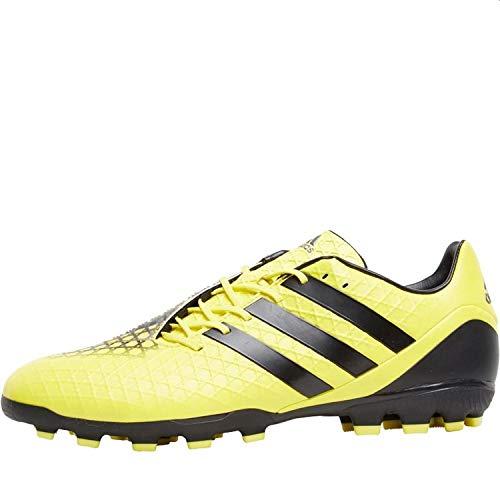 adidas Predator Incurza AG - Botas de fútbol para hombre, color amarillo, color Amarillo, talla 45 1/3 EU