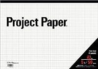オキナ プロジェクトペーパー A3 5ミリ方眼 50枚×4冊