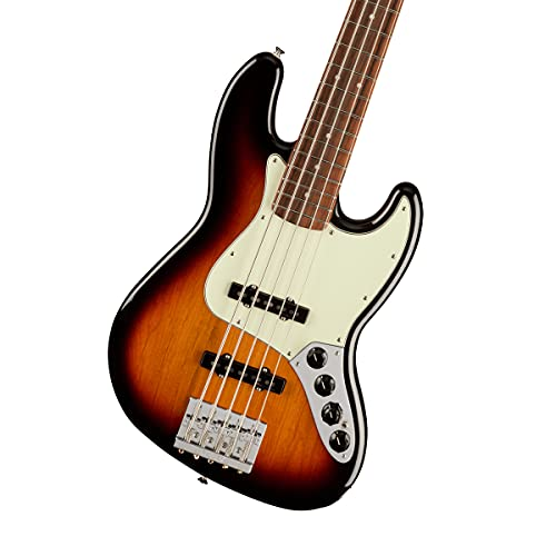 Fender 5 String Bass Guitar, Right, 3-Color Sunburst (0147383300)