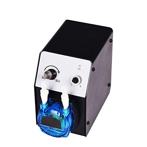 BIKEULTIMATE KCP PRO-2 24V Labor Intelligente peristaltische Pumpe Einstellbare Maschine mit Mini-Pumpenkopf für Experiment,40~210ml/min