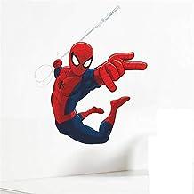 Spiderman stickers muraux pour enfants chambres décoration