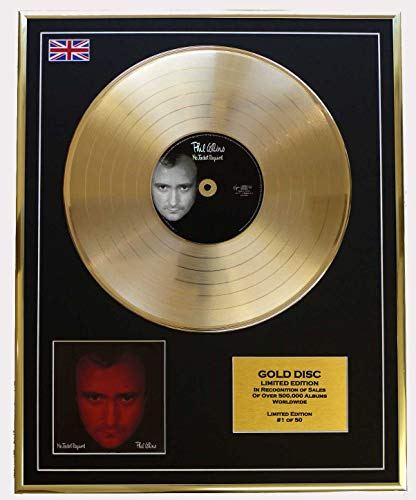 PHIL COLLINS/Cd Disco de Oro Disco Edicion Limitada/NO JACKET REQUIRED