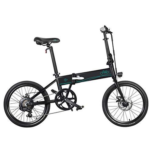 KiMiLIKE Bicicleta eléctrica FIIDO D4s 10.4Ah 36V 250W 20 Pulgadas Bicicleta de ciclomotor Plegable 0KM Rango de kilometraje Bicicleta eléctrica Adecuada para Adultos