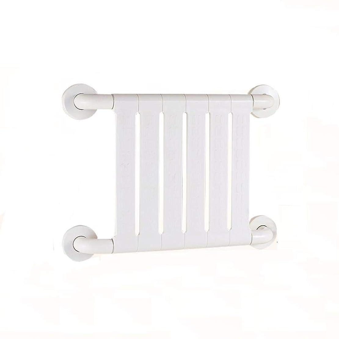 滑り止め防錆抗菌手すり高齢者障害者用アームレスト妊娠中の女性バスルームトイレバスルームの安全ハンドル (Color : 白)