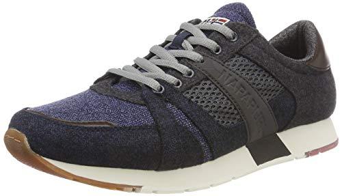 Napapijri Footwear Herren RABARI Sneaker, Blau (Blue Marine N65), 43 EU