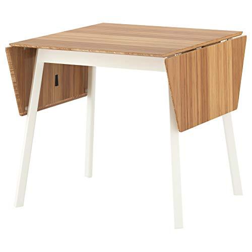 IKEA PS 2012 Drop-Leaf Tisch Bambus weiß