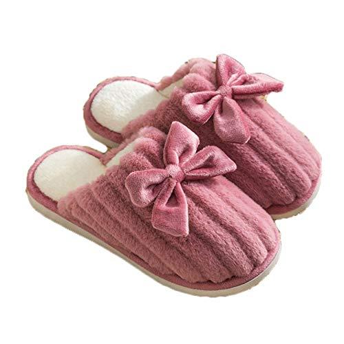 Zapatillas para hombre para hombre Zapatillas de invierno Confort de invierno Fleece de algodón forrado de zapatillas de algodón antideslizante Suela de goma antideslizante para zapatos de casa al air