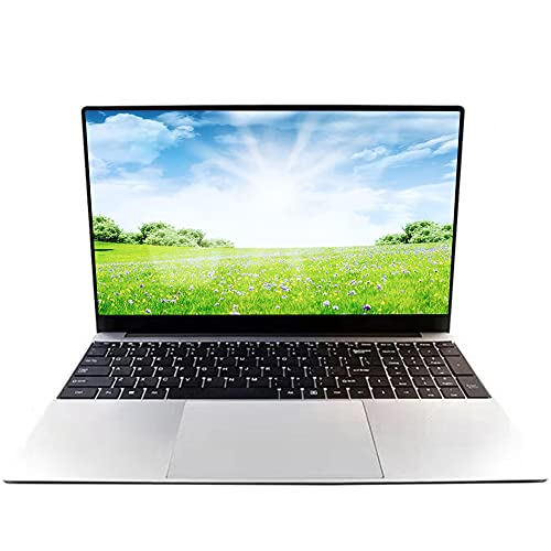 15,6 Zoll Laptop Notebook, Windows 10 Pro, Intel J3455 Quad Core CPU (bis zu 2,3 GHz), 8 GB RAM, 128 GB SSD, Full HD IPS 1920 x 1080, WLAN, HDMI