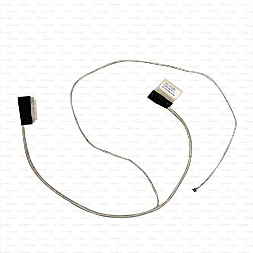 X-Comp DC02001VU00 - Cable de vídeo para pantalla LCD para HP Pavilion 15-G000 15-G100 15-G200 15-G300 15-R000 15-R100 250 G3 255 G3 Serie