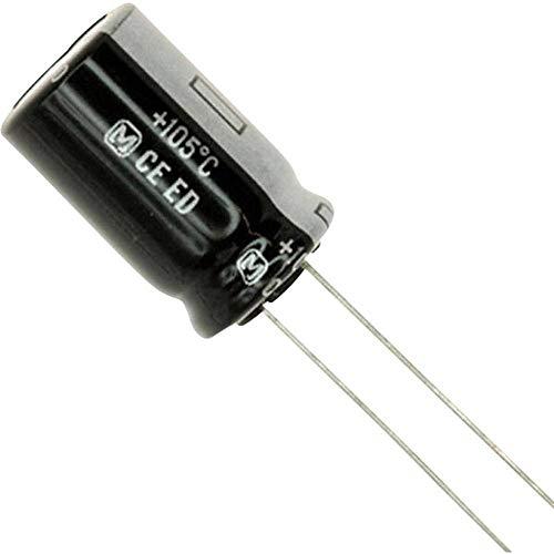 """CONDENSATORE ELETTROLITICO 680uF 35V 105° /""""NICHICON/"""" 12,5x20mm QTY: 10 PEZZI"""