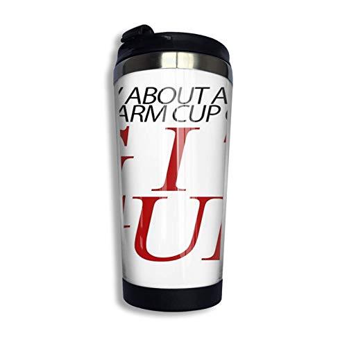 Hdadwy Una taza cálida y agradable de taza de café de acer