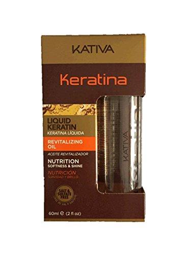 KATIVA Aceite para el cabello - 60 ml.