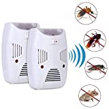 MARJI&ANUVRUTTI Ultrasonic Pest Repeller, Electronic Indoor Home Pest Control Repellent Device, Pest Reject