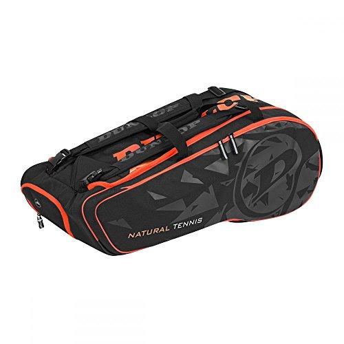 Dunlop Revolution NT 12-Racket Bag Klassische Sporttaschen, schwarz, 10-12 Tennisschläger