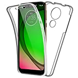 SDTEK Case for Motorola Moto G7 Play Full Body Front and