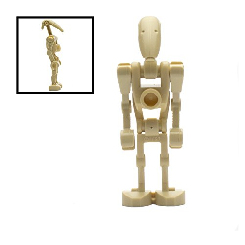 LEGO Star Wars Battle Droid Minifigura con brazos rectos