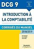 DCG 9 - Corrigés du manuel