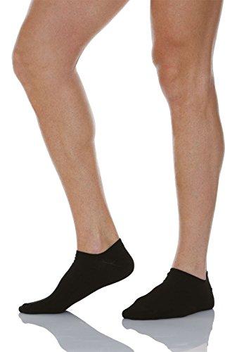 Calcetines cortos para diabéticos con fibra de plata X-Static. Blancos y tobilleros.