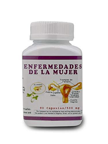 Enfermedades De La Mujer 500 mg 90 Cápsulas
