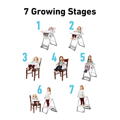 Graco EveryStep 7    in 1 High Chair | Converts to Step Stool for Kids, Dining Booster Seat, and More, Leyton