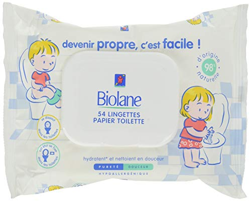 Biolane Toallitas higiénicas para el WC