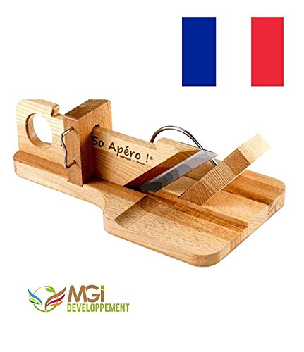 Originale So'Apéro salami, sausage, meat and chorizo Slicer, Handmade in France, from french seller