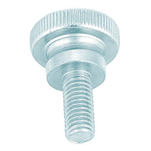 Resistente tornillo de mariposa manual de acero al carbono chapado en zinc, tornillo de mariposa, para electrodomésticos(M8*18 (10pcs))