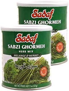 Sadaf Ghormeh-sabzi Herb Mixture 2oz (Pack of 2)